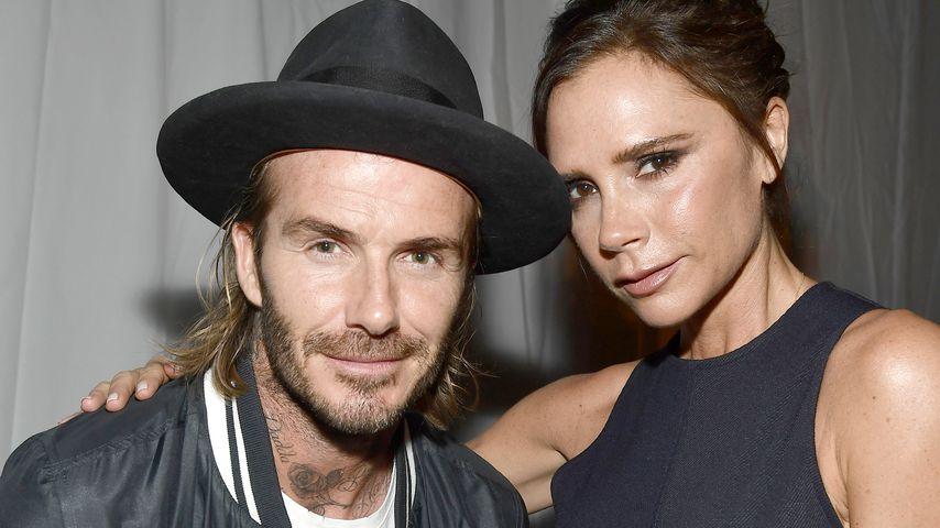 David und Victoria Beckham bei einem Event in Los Angeles, 2017