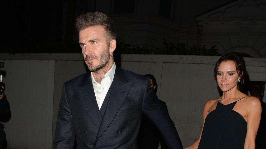 David und Victoria Beckham in London