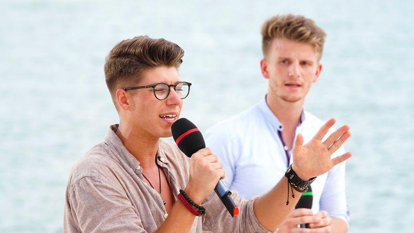 Davin Herbrüggen und Lukas Kepser, DSDS-Teilnehmer