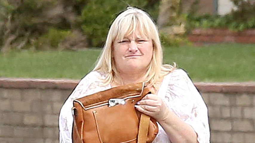 Debbie Rowe unterwegs in Los Angeles