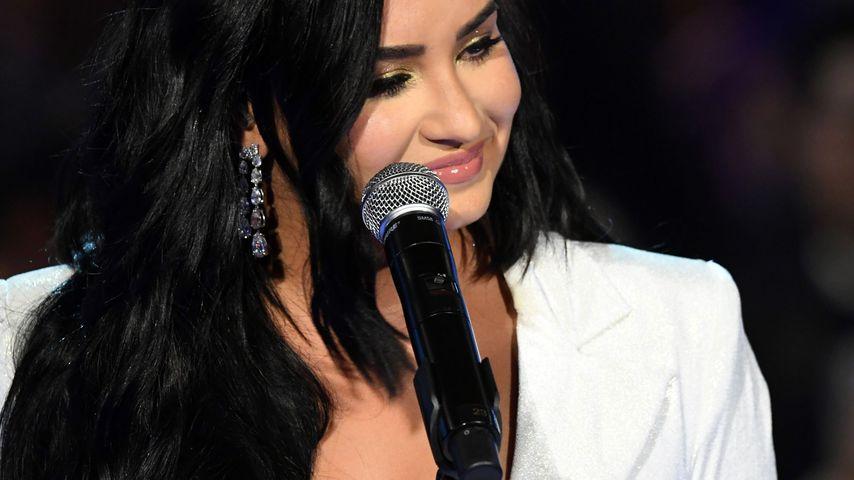 Demi Lovato bei den Grammy Awards in L.A. im Januar 2020