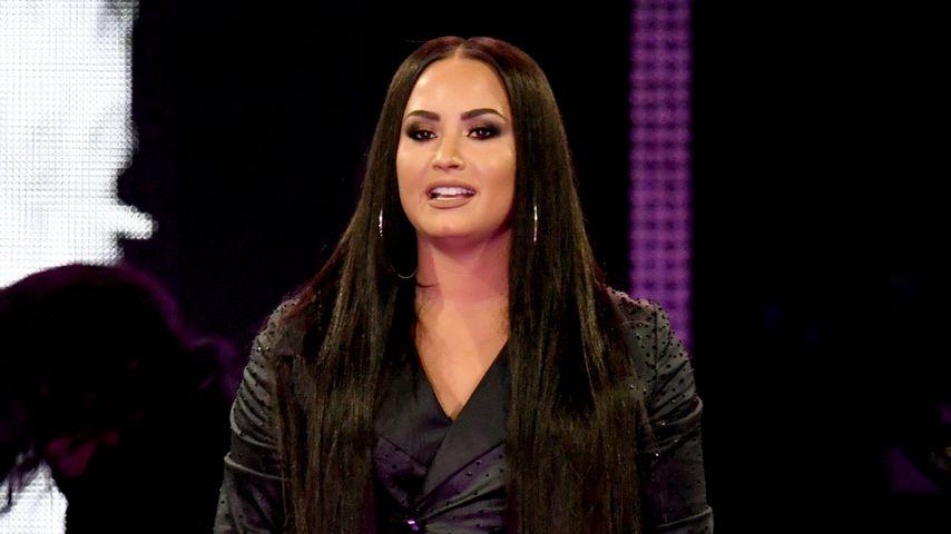 Demi Lovato bei einem Konzert in Kalifornien
