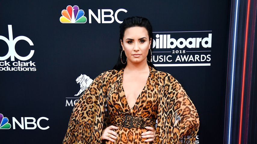 Demi Lovato mit Leo-Print bei den Billboard Music Awards 2018