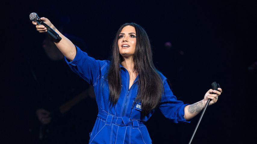 Demi Lovato bei einem Auftritt in Dallas, Texas