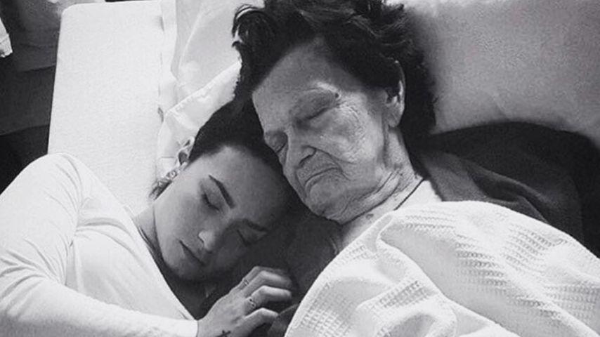In tiefer Trauer: Demi Lovato nimmt Abschied von ihrer Oma