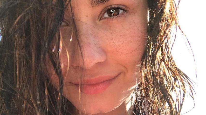 Demi Lovatos Selfie auf Instagram