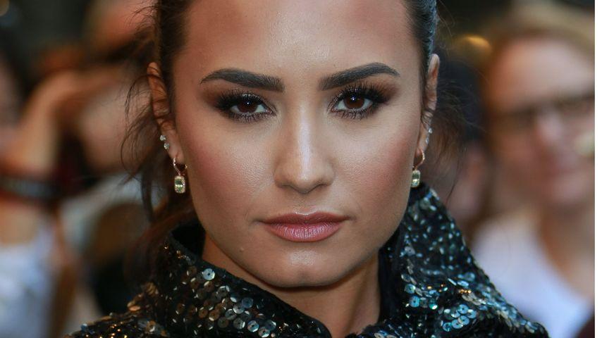 Demi Lovato in NYC