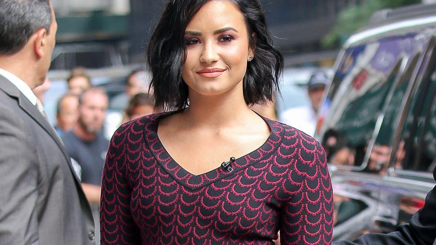"""Demi Lovato auf dem Weg zur """"The Late Show with Stephen Colbert"""""""