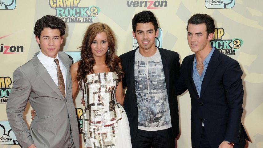 Jonas Brothers: Kein Kontakt zu Demi Lovato