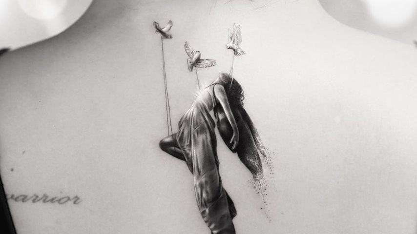 Demi Lovatos neues Tattoo, im Februar 2020