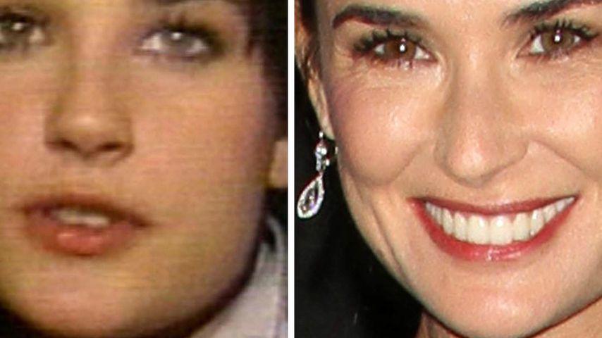 Demi Moore: Damals & heute mit dem Superstar!