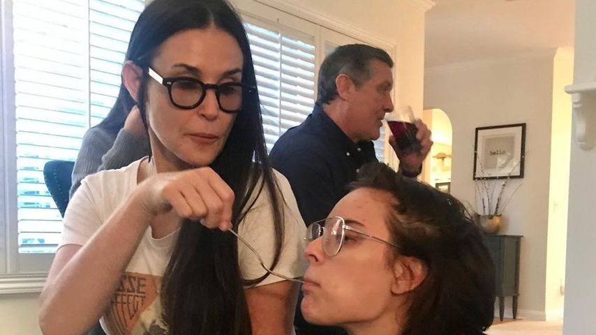 Demi Moore und Tochter Tallulah Willis, November 2019