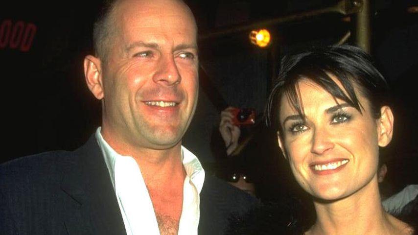 Bruce Willis und Demi Moore 1999
