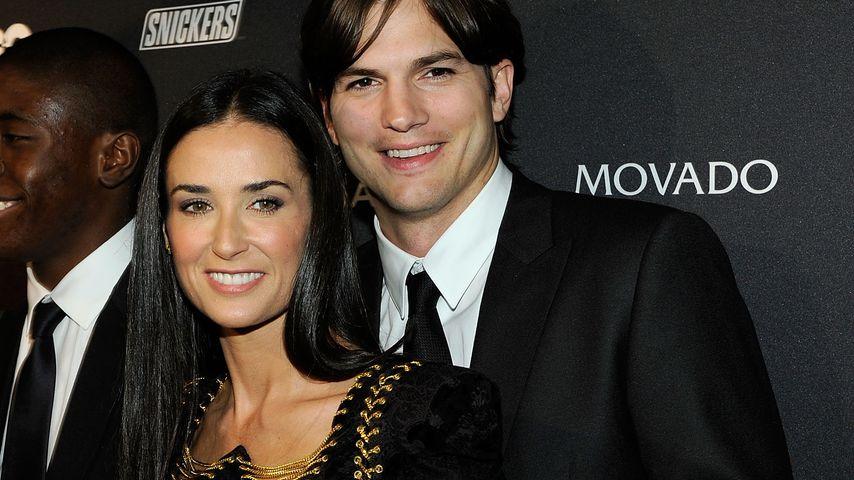 Demi Moore und Ashton Kutcher 2010