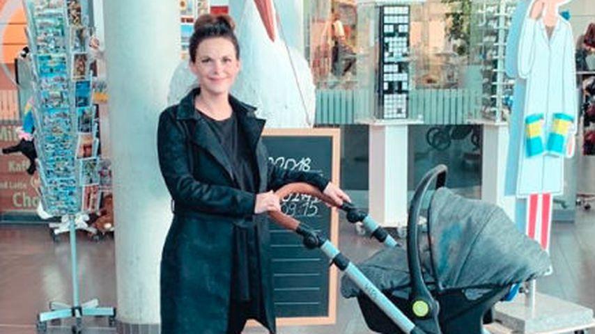 Denise Kappès im Mama-Talk: Baby Ben ist total entspannt