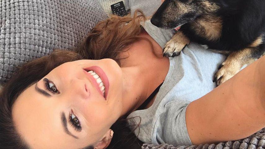 Denise Kappés mit ihrem Hund Luis