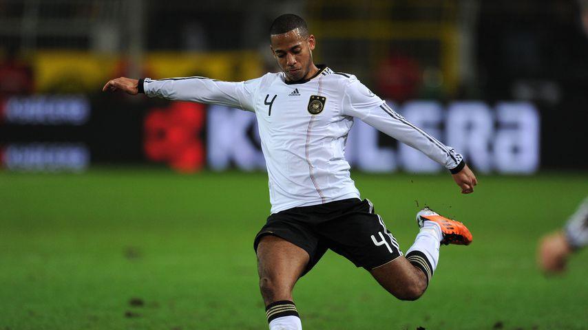 Dennis Aogo bei einem Länderspiel in Dortmund