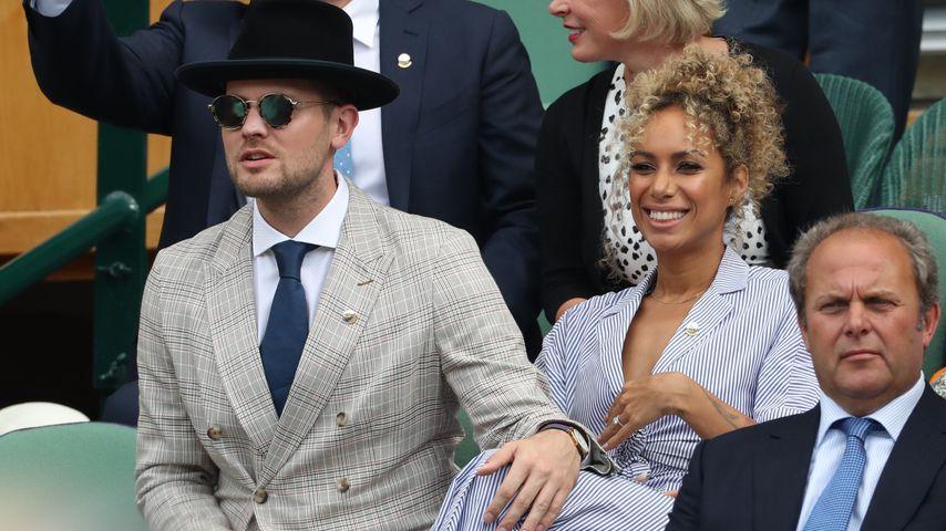 Dennis Jauch und Leona Lewis im Juli 2019
