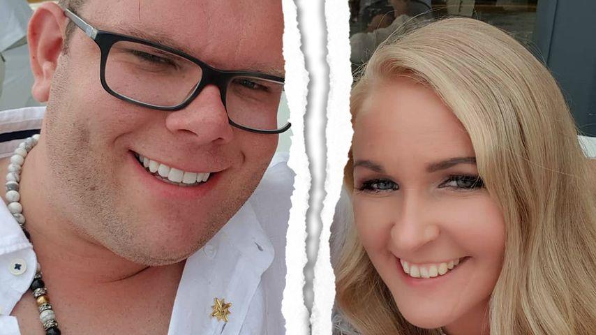 Collage: Dennis Schick und seine Frau Patricia