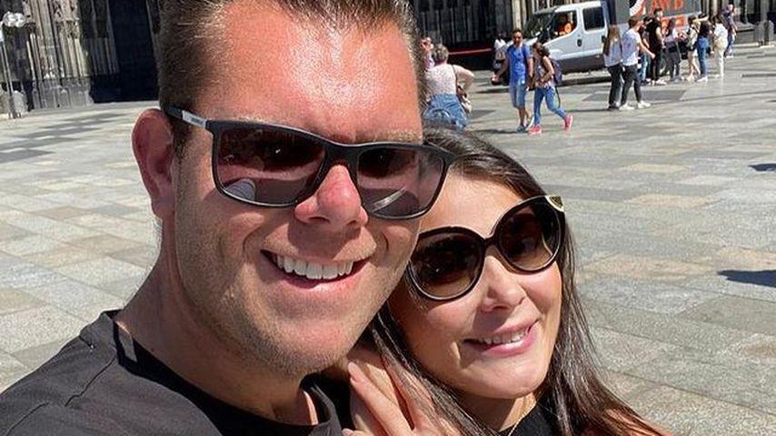 Dennis Schick und Stefanie Gherega
