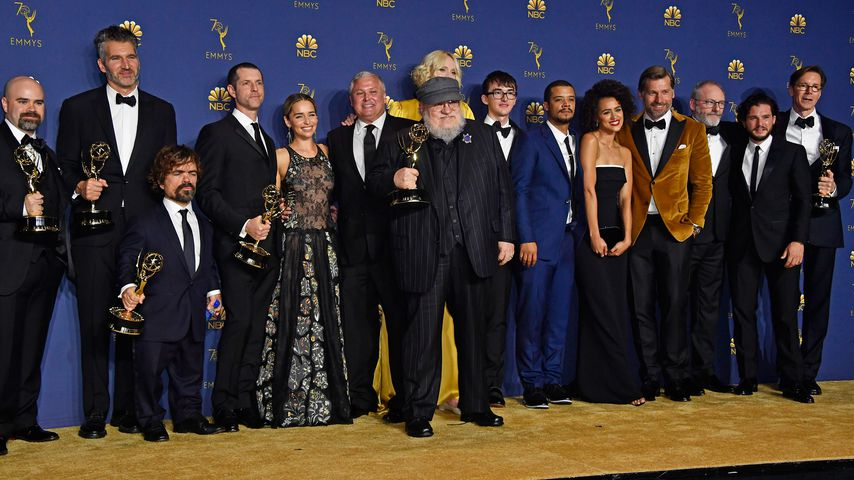 "Der Cast der Serie ""Game of Thrones"" bei der Emmy-Verleihung"