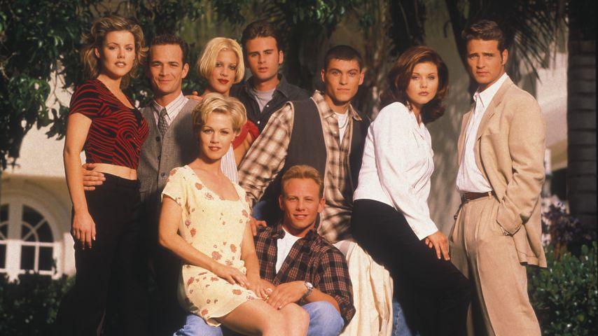 """Der Cast von """"Beverly Hills, 90210"""" im Jahr 1996"""