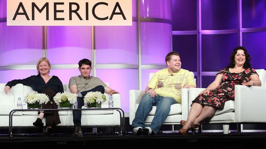 """Der Cast von """"Gavin & Stacey"""" bei der Summer Television Critics Association Press Tour 2008"""