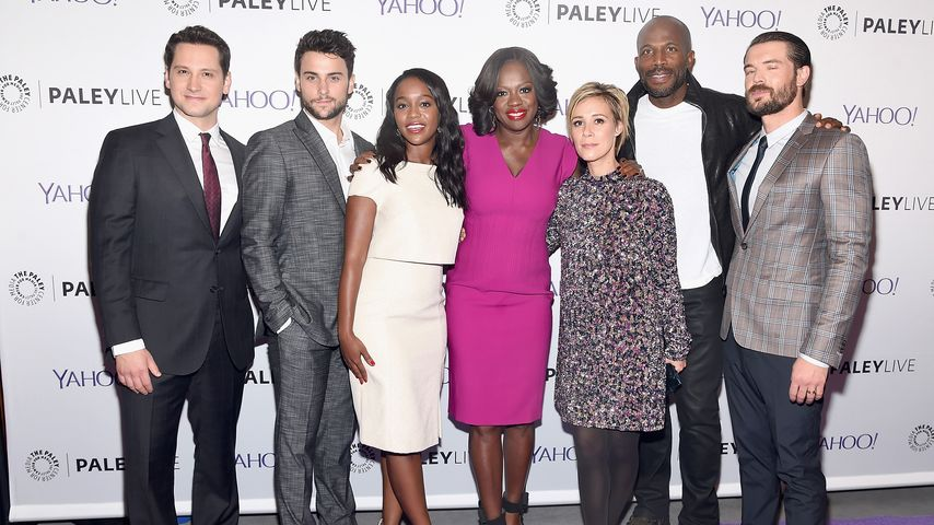 "Der Cast von ""How to Get Away with Murder"" bei einem Pressetermin im November 2015 in New York"