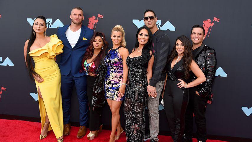 """Der Cast von """"Jersey Shore"""" bei den MTV VMAs im August 2019"""