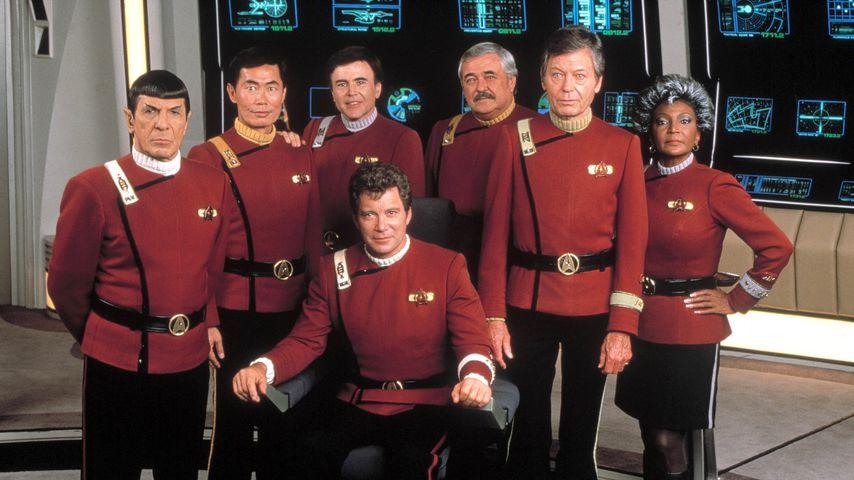 """Der Cast von """"Star Trek V - Am Rande des Universums"""""""