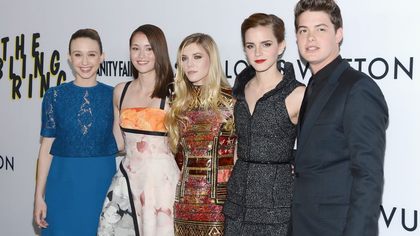 """The Bling Ring""-Cast: Taissa Farmiga, Katie Chang, Claire Julien, Emma Watson und Israel Broussard"