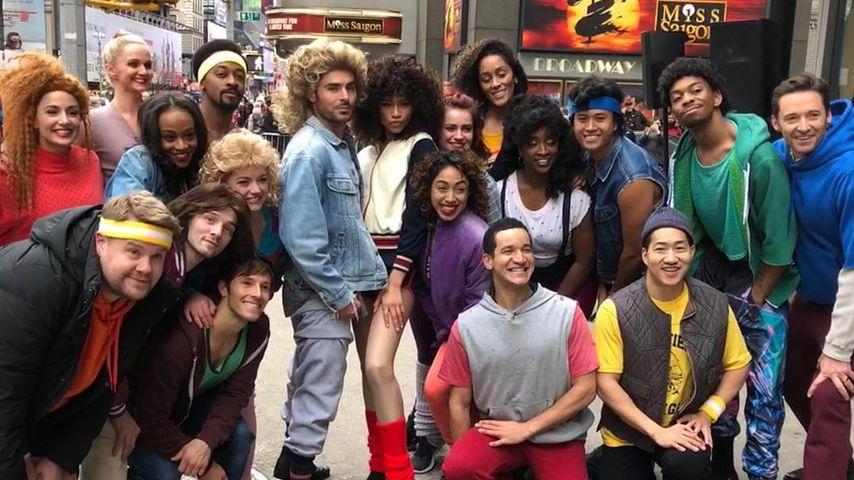 """Der Cast von """"The Greatest Showman"""" in New York"""