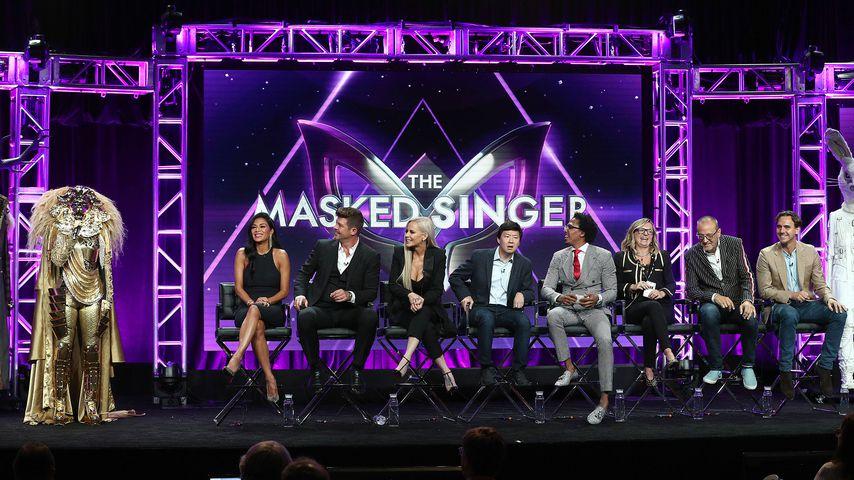 Nicole Scherzinger, Robin Thicke, Jenny McCarthy, Ken Jeong und Nick Cannon