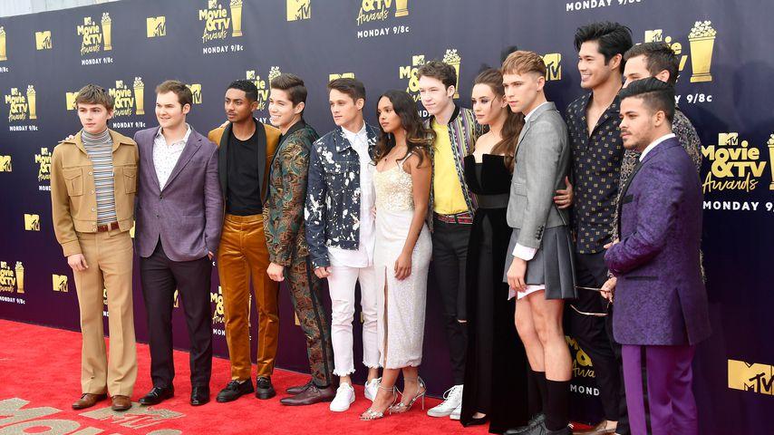 """Der Cast von """"Tote Mädchen lügen nicht"""" bei den MTV Movie & TV Awards"""