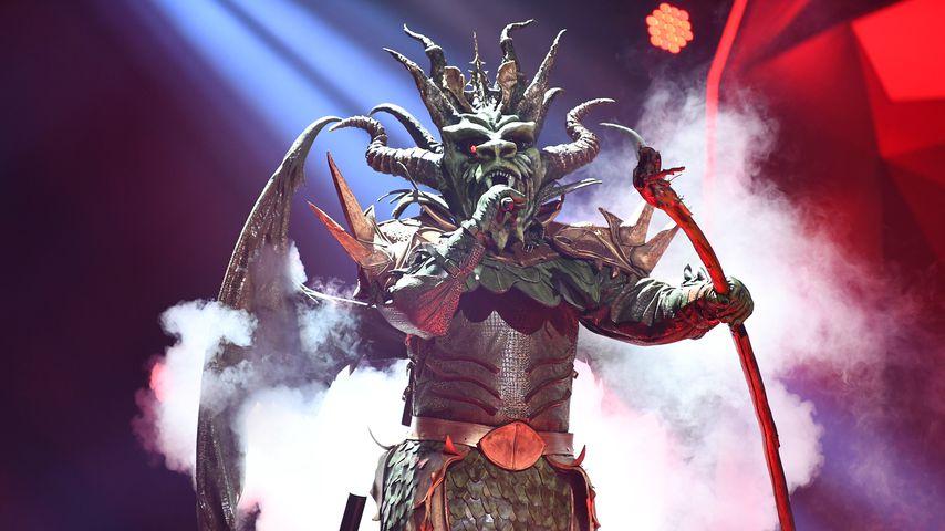 """Der Drache bei """"The Masked Singer"""""""