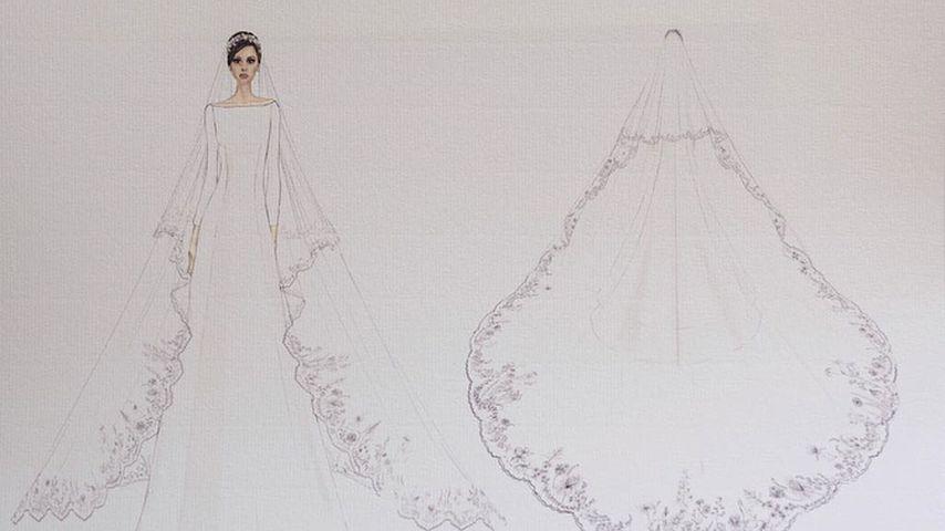 Meghans Brautkleid: Das sind die Entwürfe zur Traumrobe!