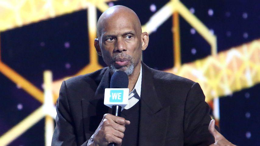 Der Ex-Basketballprofi Kareem Abdul-Jabbar
