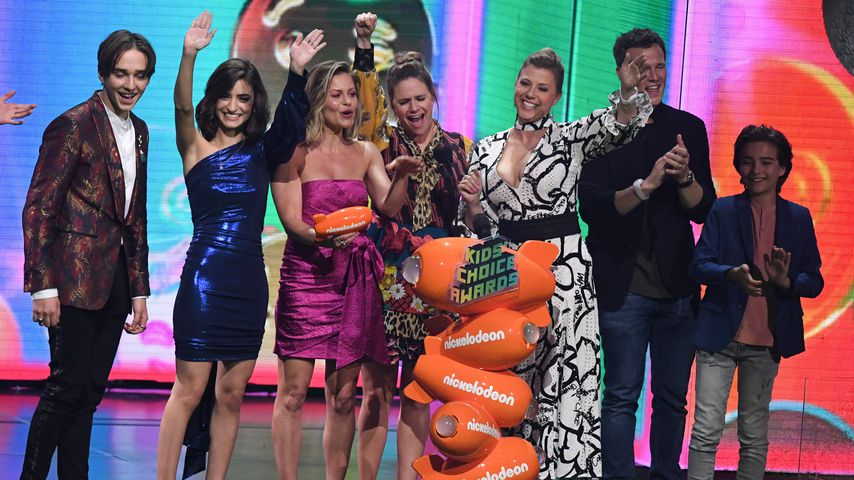 "Der ""Fuller House""-Cast bei den Kids' Choice Awards"