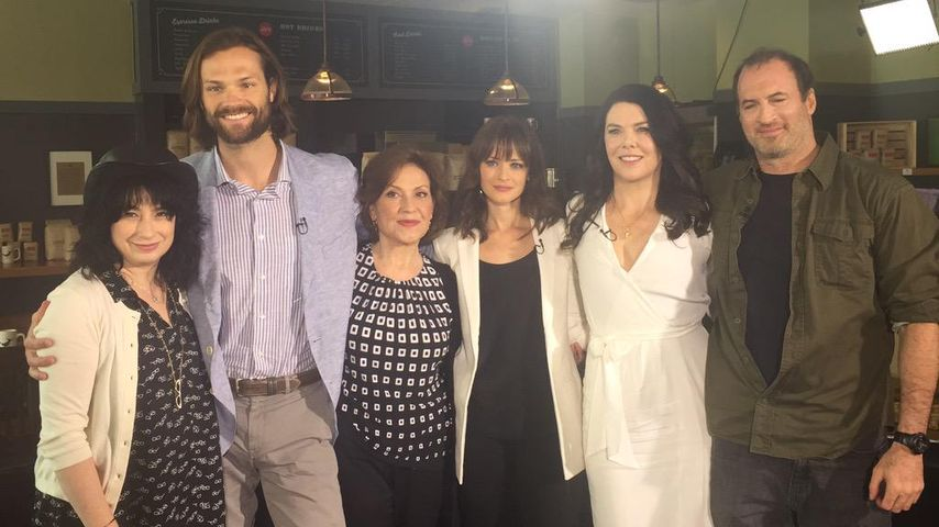 Alexis Bledel, Lauren Graham, Kelly Bishop und Scott Patterson