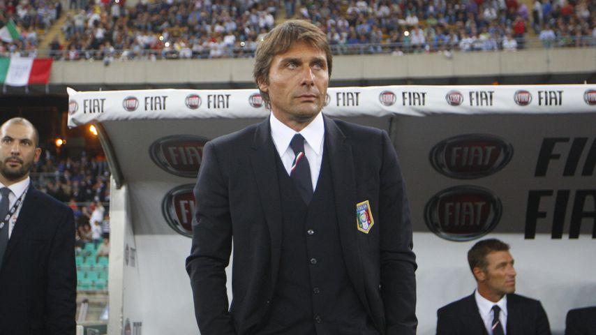 Der italienische Fußball-Nationaltrainer Antonio Conte