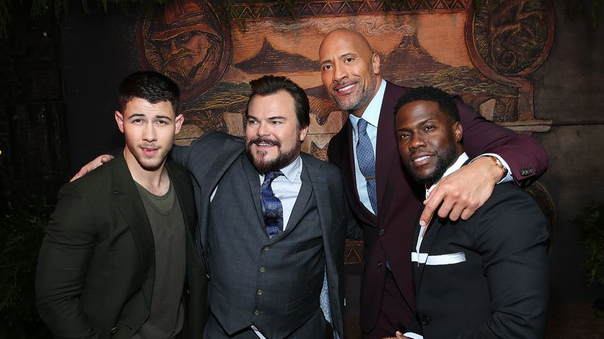"Der ""Jumanji: The Next Level""-Cast im Dezember 2017 in Hollywood"