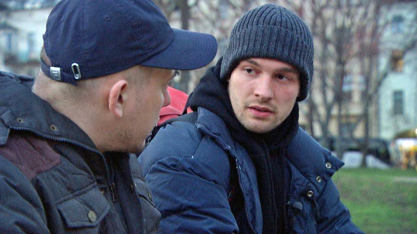 Nicht nur bei GZSZ: Eric Stehfest unterstützt Obdachlose