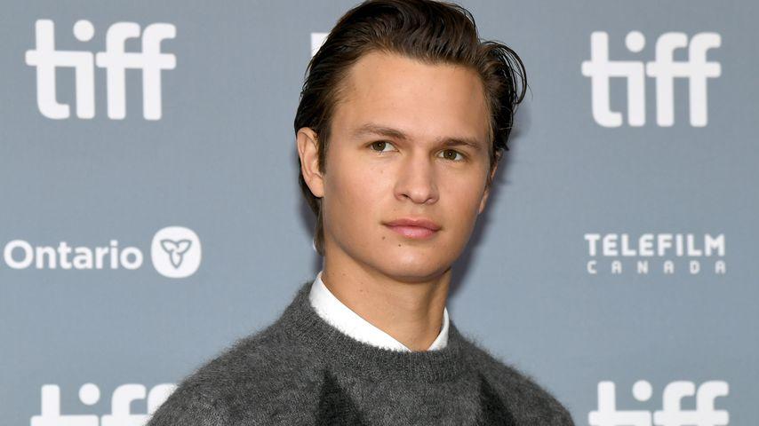 Der Schauspieler Ansel Elgort im September 2019