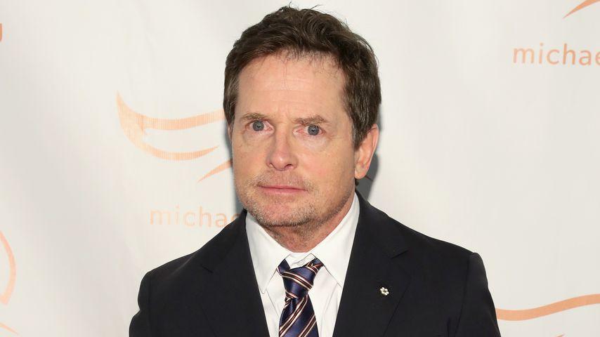 Der Schauspieler Michael J. Fox
