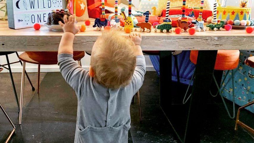 Der Sohn von Annemarie und Wayne Carpendale feiert seinen ersten Geburtstag im Mai 2019