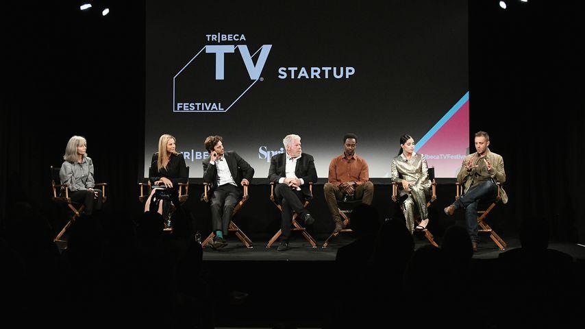 """Der """"StartUp""""-Cast bei der Premiere der dritten Staffel, 2018"""
