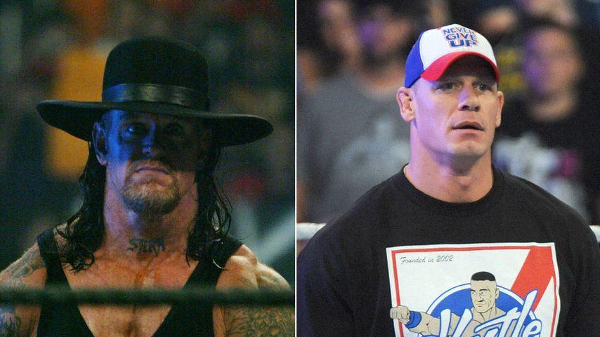 Von John Cena herausgefordert: Kommt der Undertaker zurück?