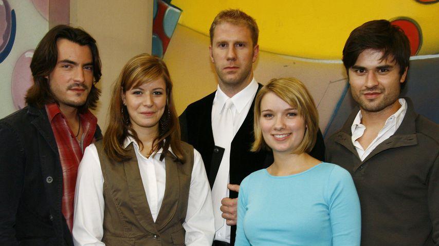"""Der """"Unter Uns""""-Cast mit Milos Vukovic 2007"""
