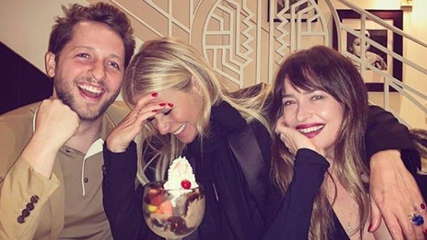 Derek Blasberg, Gwyneth Paltrow und Dakota Johnson