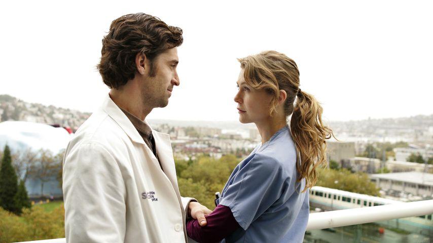 """Derek Shepherd (Patrick Demsey) und Meredith Grey (Ellen Pompeo) bei """"Grey's Anatomy"""""""